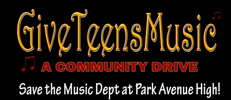 Music Department Community Drive Banner